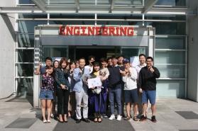 채인영 석사 졸업식